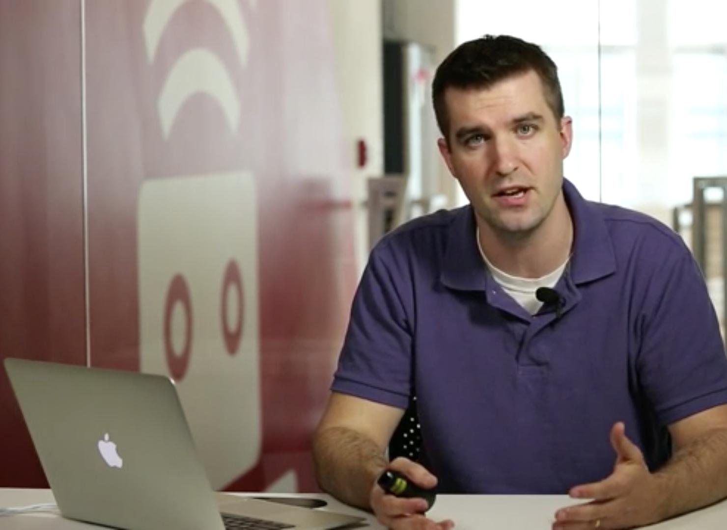 <p>Chad Pytel explains planning for building a web app</p>
