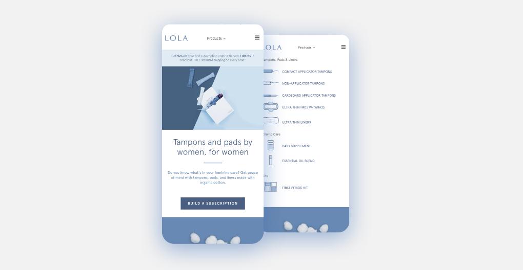 <p>LOLA's new app</p>